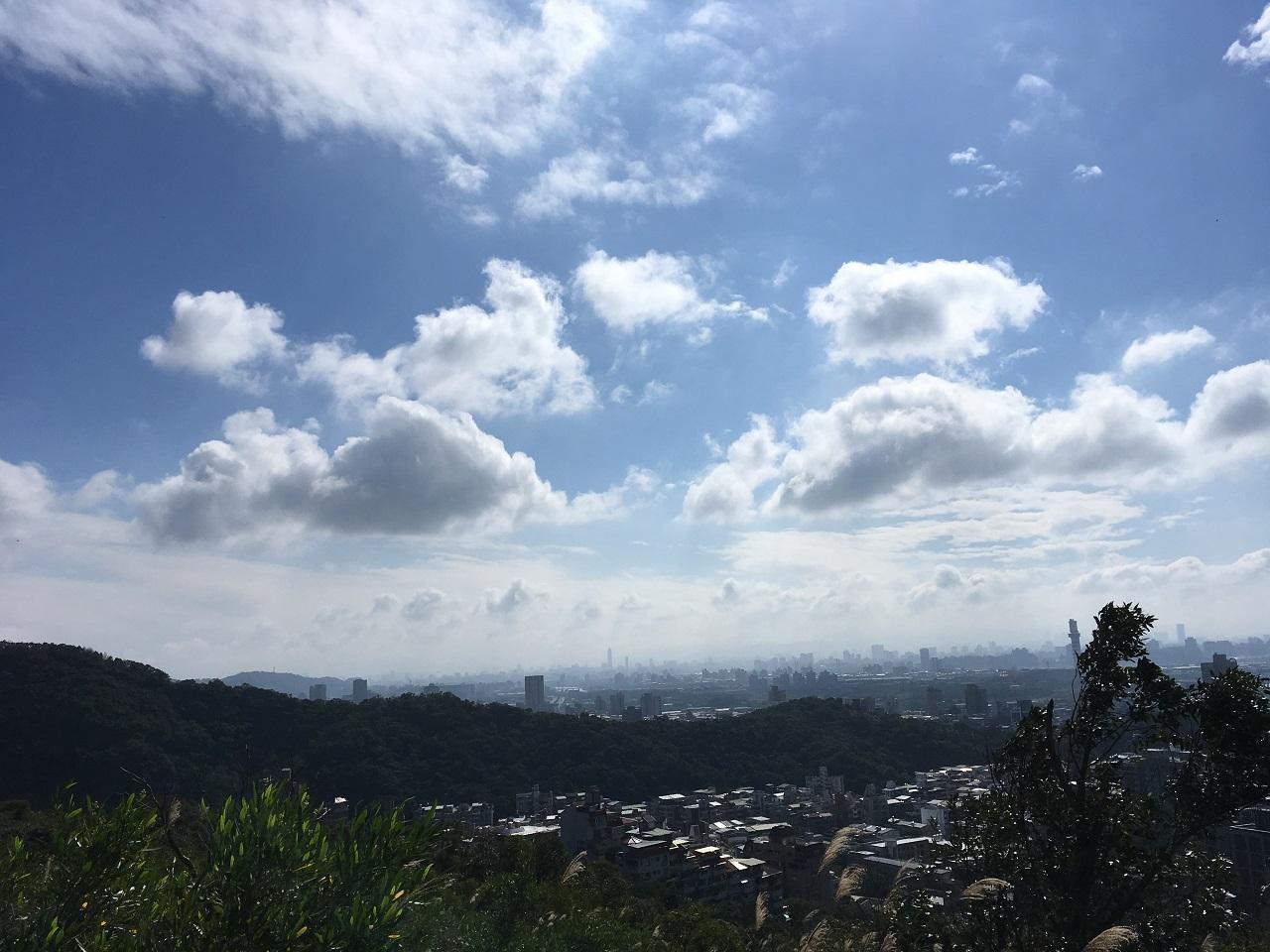 台湾の空の写真