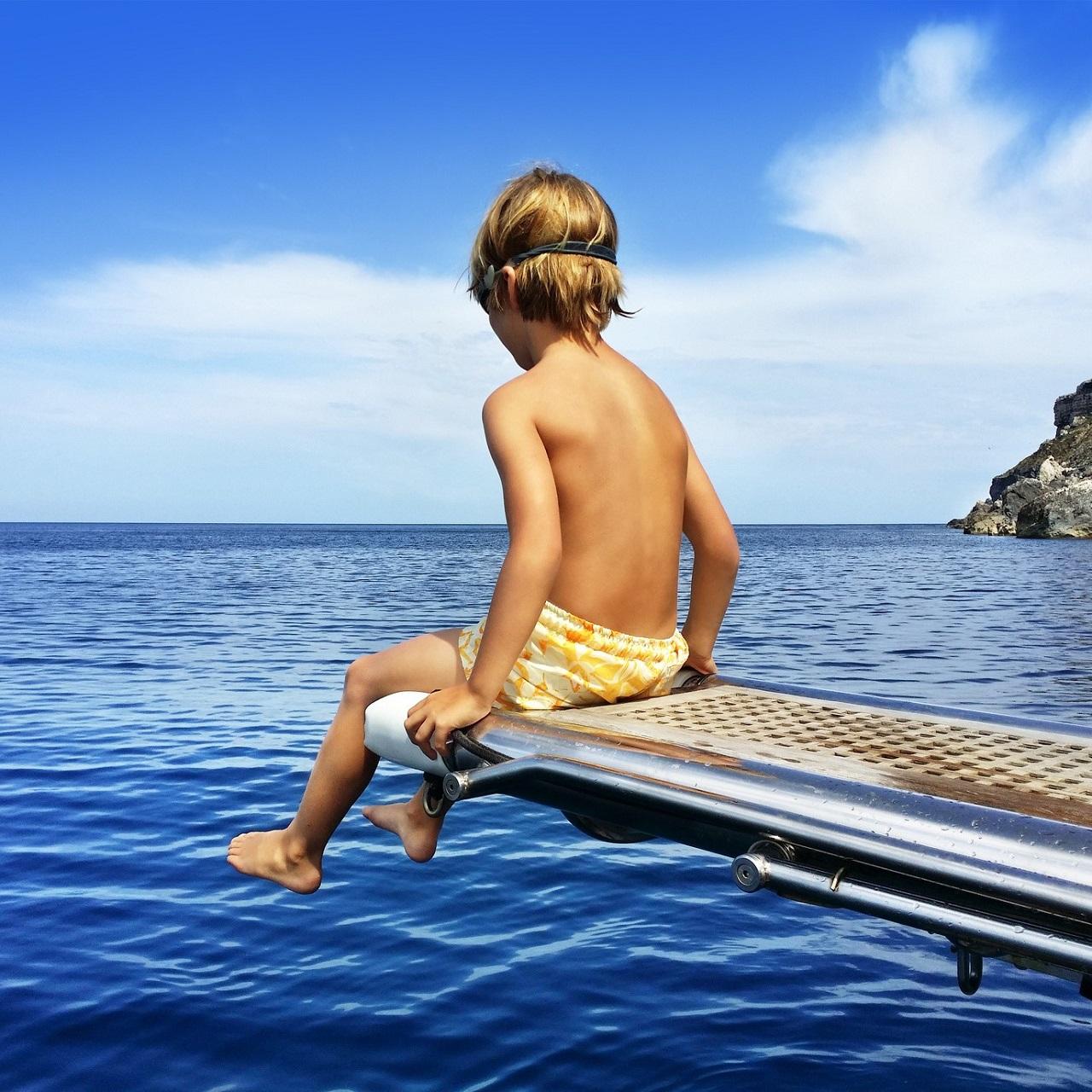 海辺の少年
