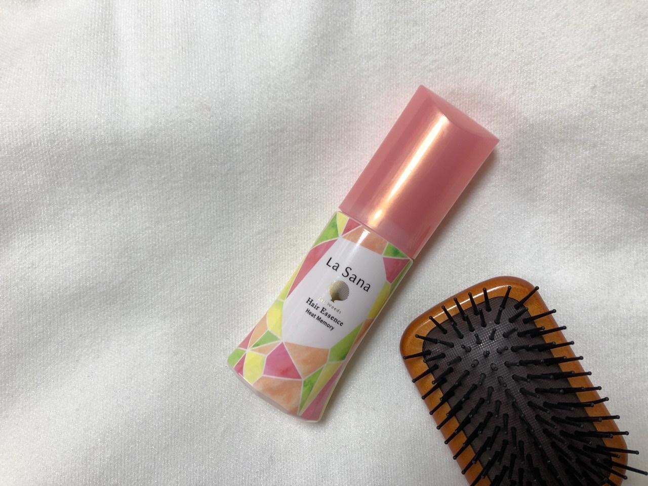 ラサーナの海藻 ヘアエッセンス ヒートメモリー ピンクグレープフルーツの香り
