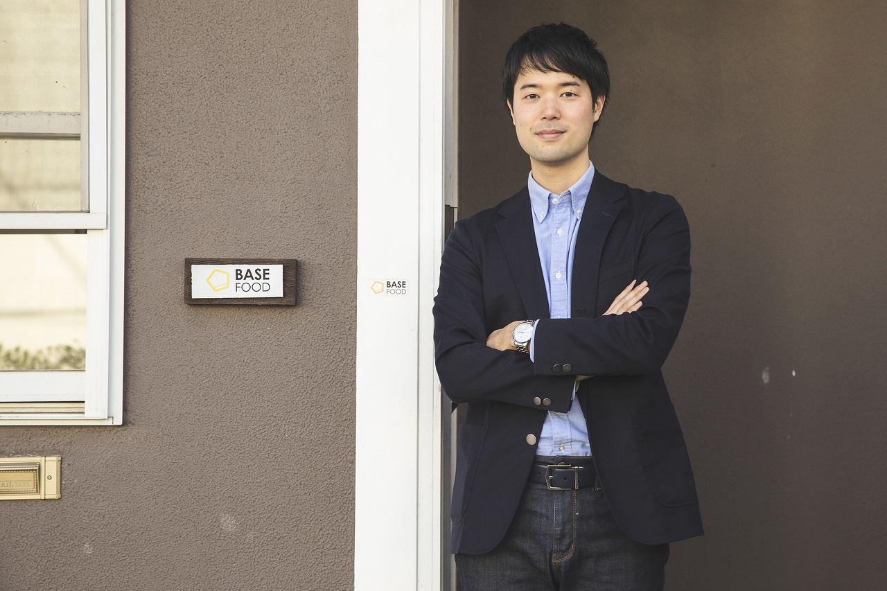 ベースフード 代表取締役 橋本舜さん