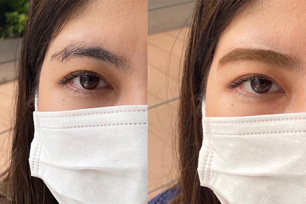左:before  右:after